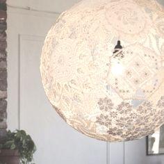 Lace lantern