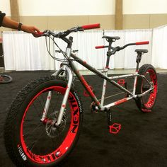 Tandem fat bike by Quiring by bicycletimes