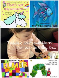 World Book Day costume ideas for toddlers