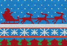 25 Free Knitting Patterns for Christmas Stockings - knitting christmas Knitted Christmas Stocking Patterns, Knit Christmas Ornaments, Knitted Christmas Stockings, Xmas Stockings, Christmas Patterns, Christmas Projects, Beginner Knitting Patterns, Knitting Charts, Free Knitting