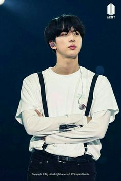 #BTS JAPAN OFFICIAL FANMEETING VOL 4 happy ever after #JIN ~❤