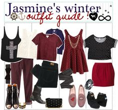 """""""Jasmines winter outfit guide !"""" by teenage-to-teenage-tips-xo on Polyvore"""