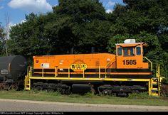 WGCR 1505   Description:    Photo Date:  10/7/2014  Location:  Enterprise, AL   Author:  Allan Williams Jr.  Categories:  Roster  Locomotives:  WGCR 1505(SW1500)