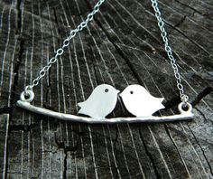 Bird Necklace STERLING SILVER