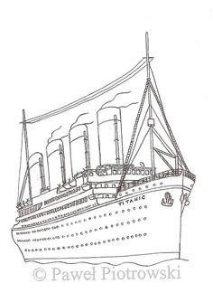 Titanic Sinking Coloring Pages   Bilder   Ausmalbilder ...