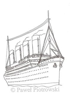 Titanic Activity Worksheets | gi titanic colouring pages