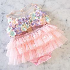---HelloKitty on the beach--- Pool Party Dresses, Birthday Dresses, Baby Girl Dresses, Baby Dress, Tutu Dresses, Baby Girl Fashion, Kids Fashion, Honey Bee Kids, Dress Anak