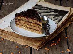 Чечевичный торт с шоколадным кремом