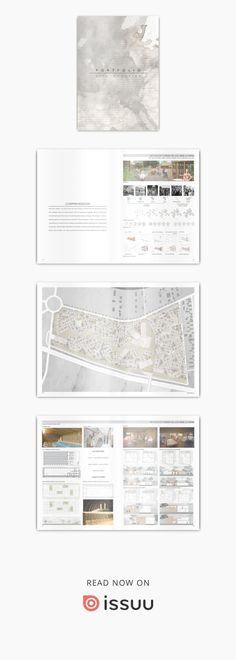 Architecture Portfolio Rita Nogueira #architectureportfolio