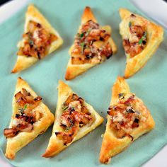 Caramelized Onion & Apple Mini Tarts Recipe