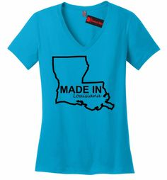 Made In Louisiana Funny Home State Pride Shirt