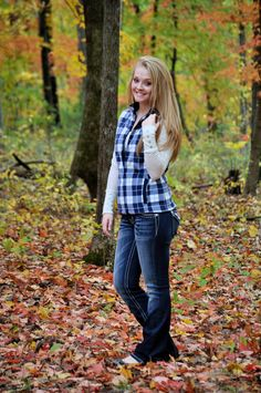 Fall senior picture