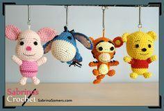 Tigger - Winnie de Pooh - Patron gratis - Amigurumi                                                                                                                                                      Más