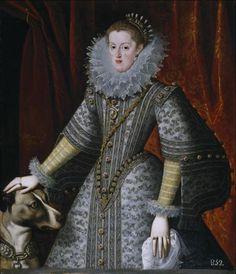 La reina doña Margarita de Austria, 1609 by González y Serrano Museo Nacional del Prado