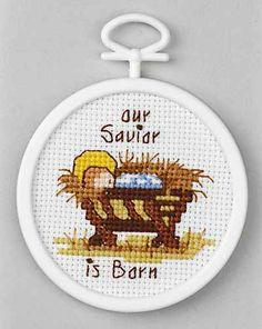 Janlynn Our Savior Mini - Beginner Cross Stitch Kit - 123Stitch.com