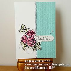Angela Meiritz-Reid | PETAL PASSION FOR FUSION CARD CHALLENGE | Stampin' Up!
