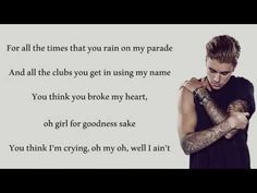 I do not own anything. All credits go to the right owners. No copyright intended. Buy Purpose on iTunes: https://itunes.apple.com/us/album/purpose-deluxe/id1...