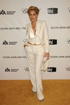 Fabulous! Sharon Stone.