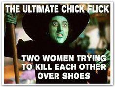 shoes. shoes. shoes. let's get some shoes.