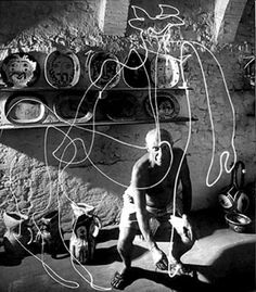 ''Action is the foundational key to all success. ''  Pablo Picasso, drawing.