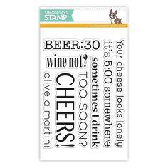 SSS Adult Beverage Sayings stamp.