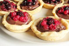 La-Compagnie-Sans-Gluten, un blog-sans-gluten-et-sans-lait !: Crème pâtissière et tartelettes au chocolat sans gluten et sans lait