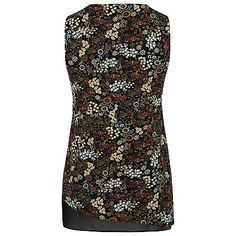 Floral Print Top and Necklace Set   Women   George at ASDA