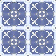 Cement Tile Shop - Encaustic Cement Tile Flor de Liz