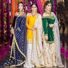 Colors & Crafts Boutique™ offers unique apparel and jewelry to women who value … Indian Attire, Indian Wear, Indian Outfits, Mehndi Outfit, Pakistani Wedding Outfits, Pakistani Bridal Dresses, Punjabi Fashion, Indian Fashion, Women's Fashion