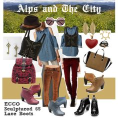 Designer Clothes, Shoes & Bags for Women Alps, Sculpture, City, Polyvore, Stuff To Buy, Inspiration, Shopping, Collection, Design