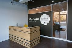 Urban Jungle office design by Hatch Interior Design.