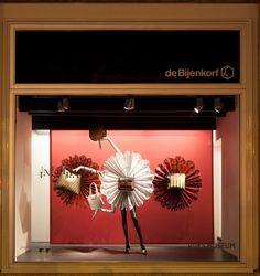De Bijenkorf x Rijksmuseum windows by StudioXAG, Netherlands