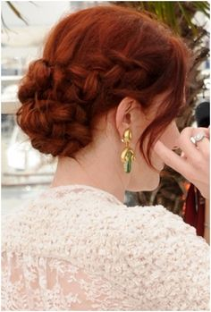 Very easy, believe it or not. Similar to what I did for prom this past April in a bad hair day cinch. DEFINITELY a 'do I have recycled and will continue to recycle in times of need!