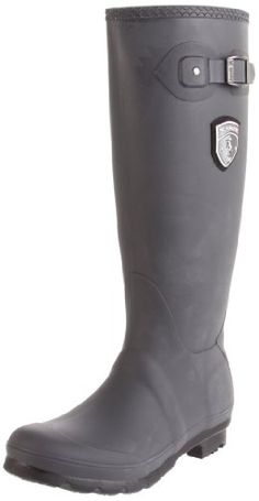 51f76b63480f1 Kamik Women's Jennifer Rain Boot Lightweight, waterproof upper made from  RubberHE. It's a PVC free, synthetic rubber that's designed to retain its  ...