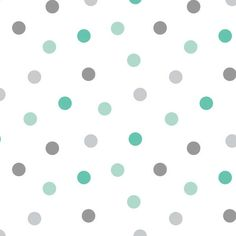 Cotton Fabric For Quilting And Crafting By Emma And Mila From The Fresh Mint Collection: Dot In Multi, Multicolor Grey Fabric, Cotton Fabric, Fresh Mint, The Fresh, Fabric Squares, Fabulous Fabrics, Pattern Paper, Fabric Design, Plants