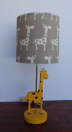 handmade giraffe lamp great nursery or kids lamp by on etsy https - Giraffe Lamp