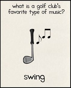 What is a golf club's favorite type of music? #golf #swing #lorisgolfshoppe