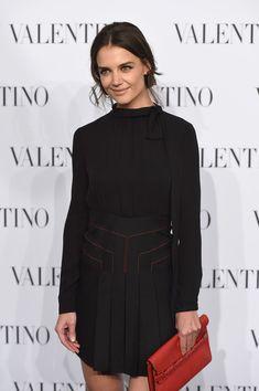 Katie Holmes Little Black Dress - Katie Holmes Looks - StyleBistro