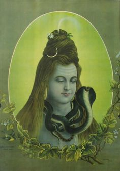 .Mahadev.Shiva is robed in space