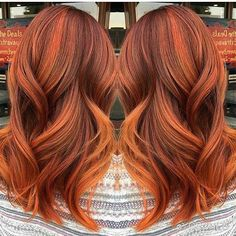 Totally crushing on this autumn copper shade by @yorcheb. Who else is ready for fall haircolor?! #pumpkinspicehair #haircolor #falliscoming #hairinspiration