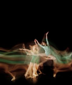 Long Exposure Photos of Ballet Dancers Show Grace and Movement in a Single Frame