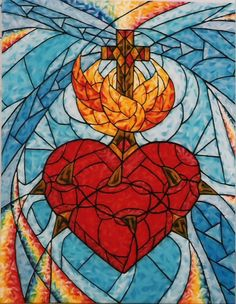 Image detail for -Sacred Heart of Jesus by Susan Marie Pieri | ArtWanted.com