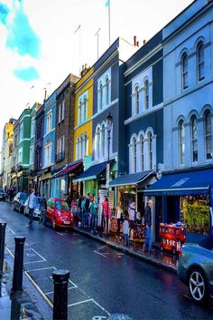 Notting Hill in London, England.
