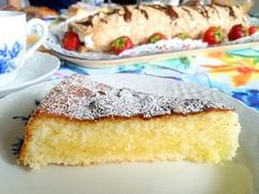 Glutenfri sandkaka | Glutenfria godsaker | Bloglovin' Gluten Free Cakes, Gluten Free Baking, Foods With Gluten, Sweet And Salty, No Bake Desserts, Baked Goods, Baking Recipes, Deserts, Yummy Food