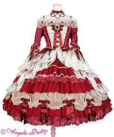 Angelic Pretty official site Pretty Outfits, Pretty Dresses, Beautiful Outfits, Cute Outfits, Old Fashion Dresses, Kpop Fashion Outfits, Japanese Outfits, Japanese Fashion, Kawaii Fashion