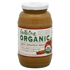 Santa Cruz Organic Apple Cinnamon Sauce 23 Ounce Pack of 12 ** Find out more about the great product at the image link. #Desserts