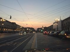 Torino, piazza Vittorio...tornando dal mare.