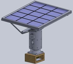 Seguidor Solar Con Motores a Paso + Arduino : 11 Steps - Instructables Solar Energy Panels, Best Solar Panels, Stepper Motor Arduino, Solar Tracker, Solar Energy Facts, Solar Roof, Solar Projects, Solar Installation, Control Flow
