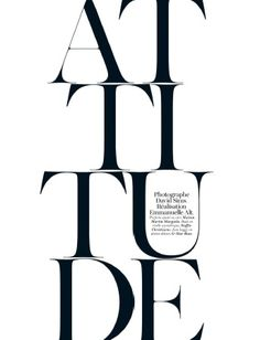 French Vogue - April 2012- loving stacked type, especially overlaying photos...