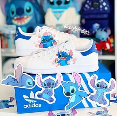 Cute Disney Outfits, Disney Inspired Outfits, Disney Shoes, Cute Nike Shoes, Cute Nikes, Jordan Shoes Girls, Girls Shoes, Lilo And Stitch Costume, Stitch Disney